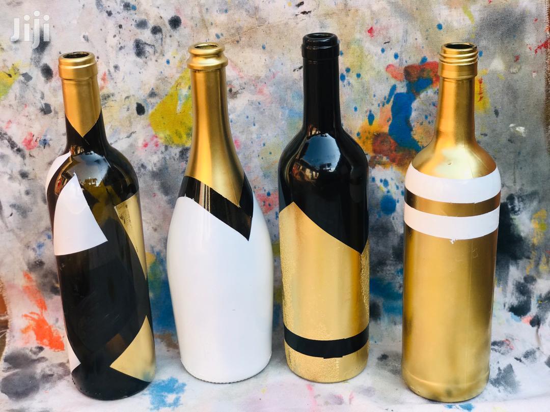Flower Vase Art Bottles