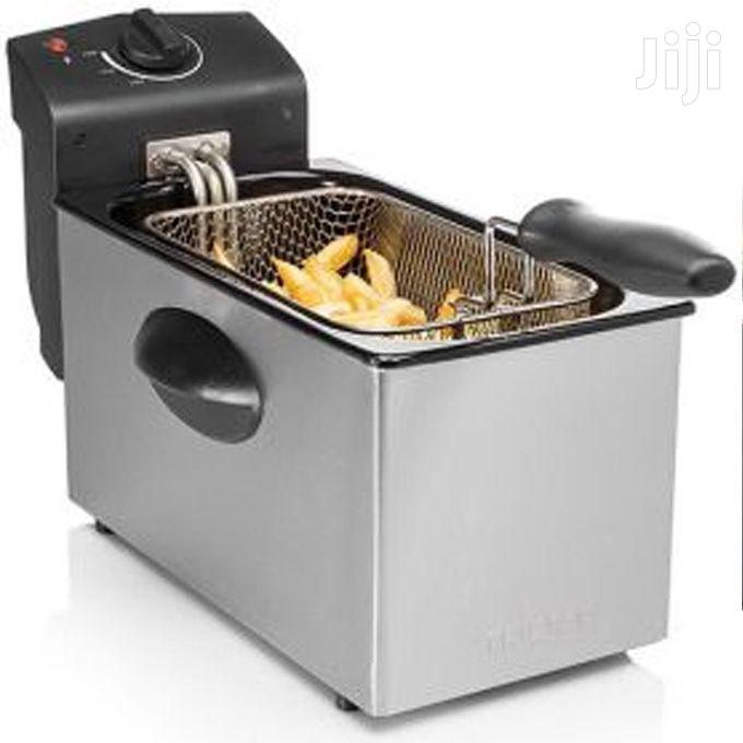 Professional Style Stainless Steel Deep Fryer - Silver | Kitchen Appliances for sale in Kampala, Central Region, Uganda