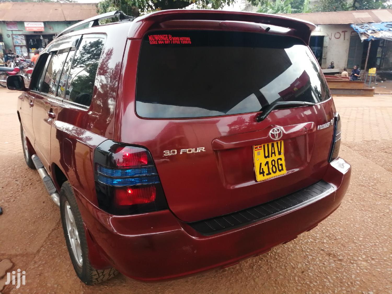 Toyota Kluger 2003 Red | Cars for sale in Kampala, Central Region, Uganda