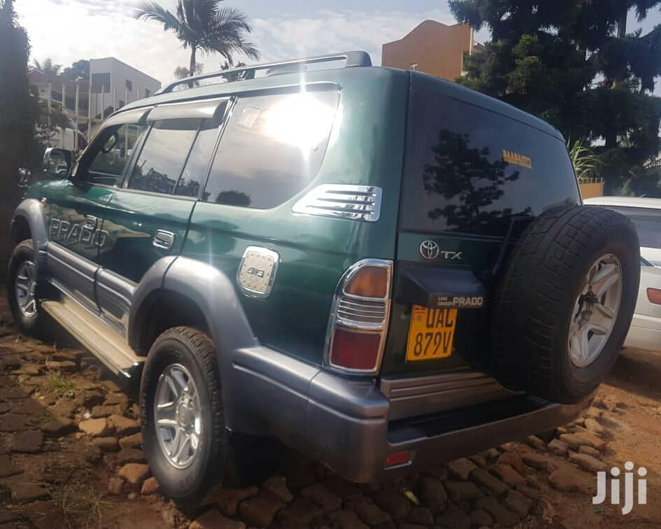 Toyota Land Cruiser Prado 2000 Green | Cars for sale in Kampala, Central Region, Uganda