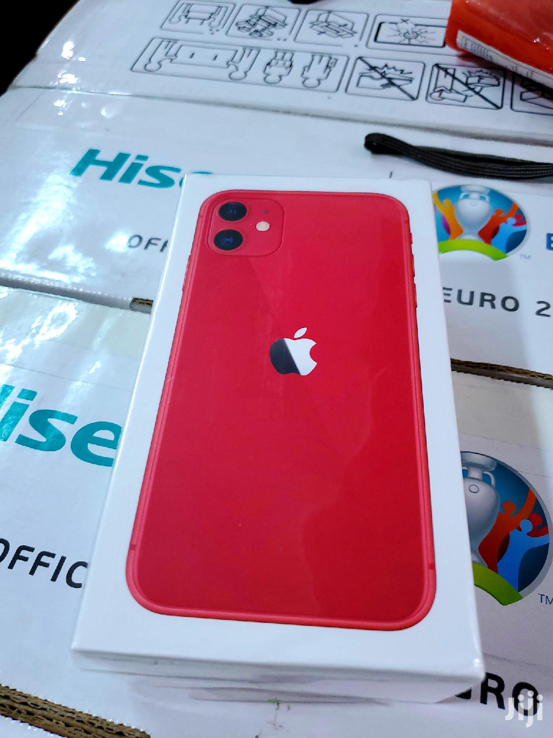 New Apple iPhone 11 128 GB Red