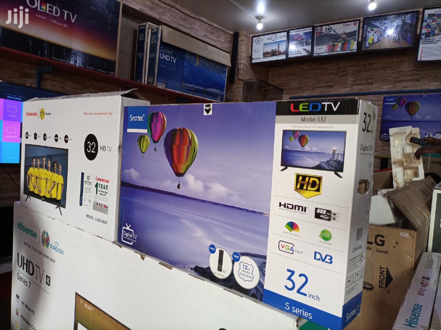 Smartec 32 Inches LED Digital Flat Screen TV | TV & DVD Equipment for sale in Kampala, Central Region, Uganda
