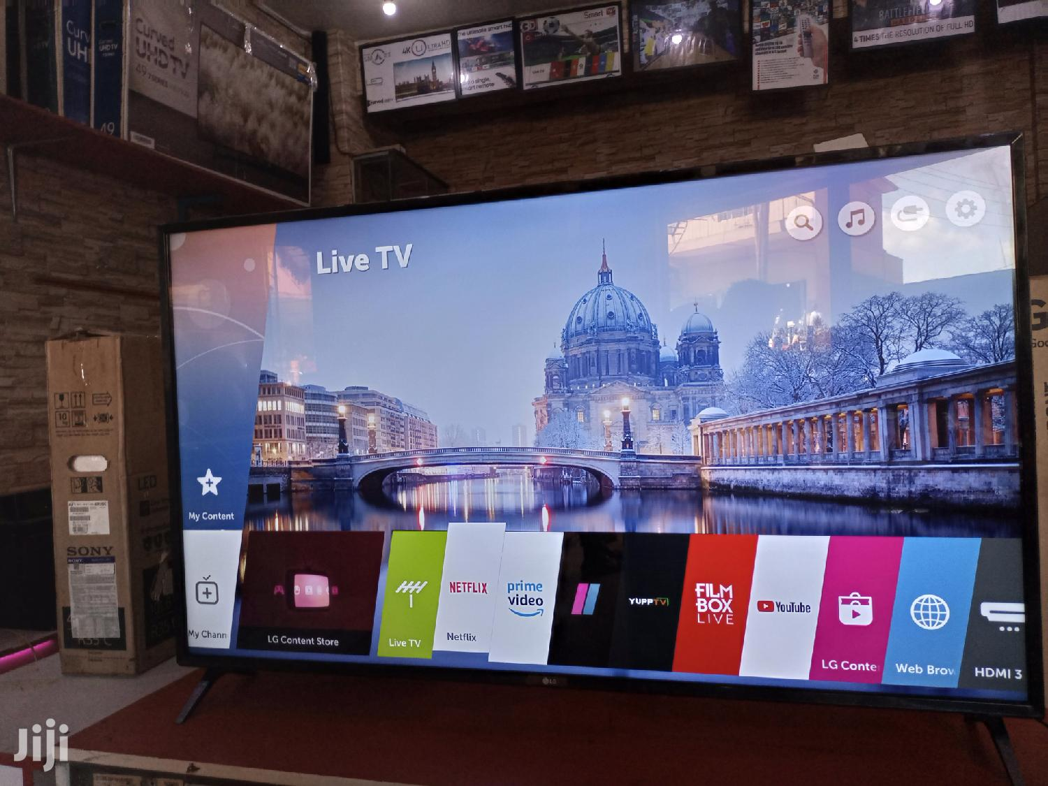 LG Smart Uhd Digital Web Flat Screen TV 55 Inches | TV & DVD Equipment for sale in Kampala, Central Region, Uganda