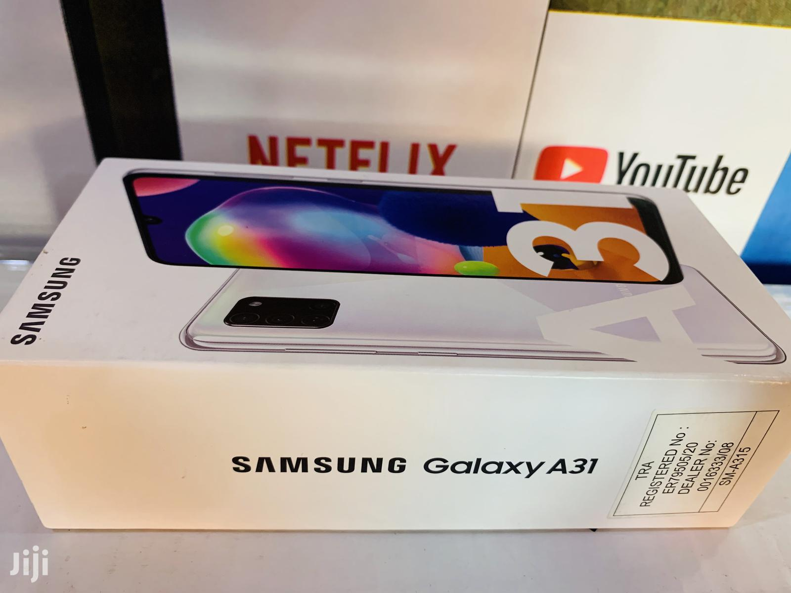 New Samsung Galaxy A31 128 GB White   Mobile Phones for sale in Kampala, Central Region, Uganda