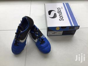 Kids Sondico Flair SG Football Boots (Black/Blue) | Children's Shoes for sale in Central Region, Kampala