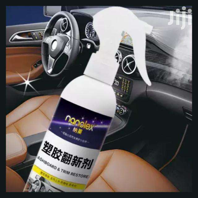 Car Dashboard And Tyres Spray
