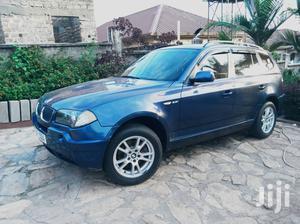 BMW X3 2.5i 2005 Blue