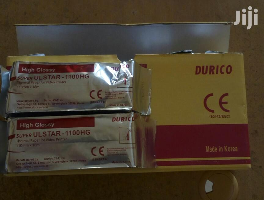 Archive: Ultrasound Printing Paper Durico High Gloss