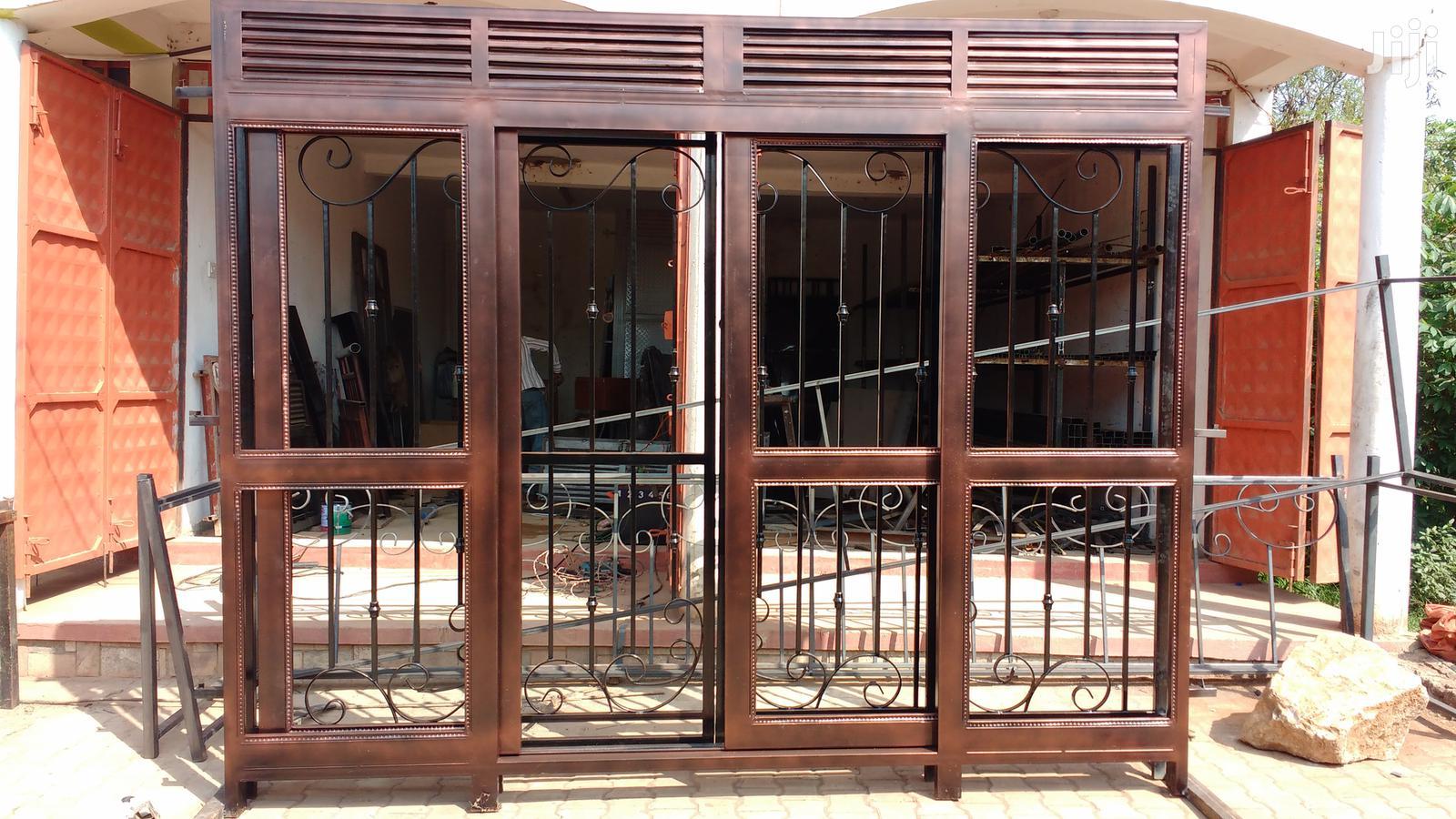 Front Door Brown