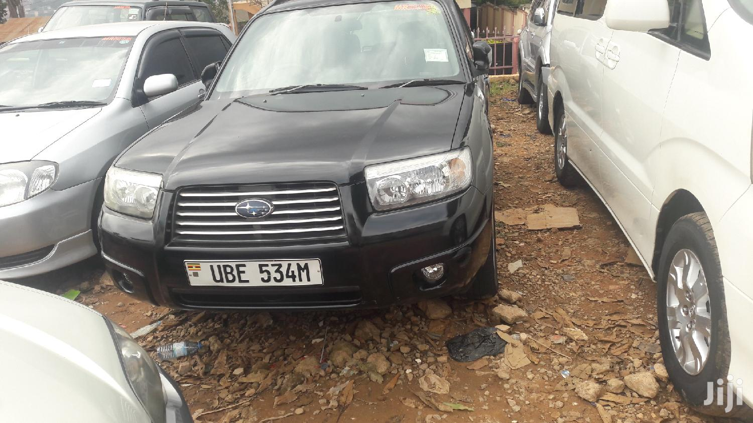 Subaru Forester 2005 Black