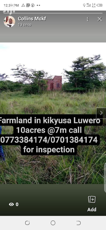 Farm Land in Luwero Kikyusa