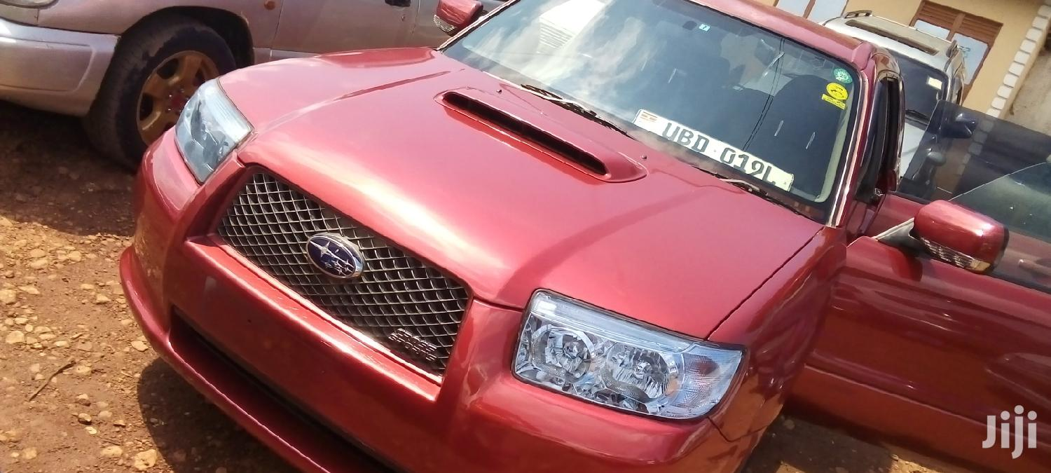 Archive: Subaru Forester 2005 2.0 XT Turbo Red