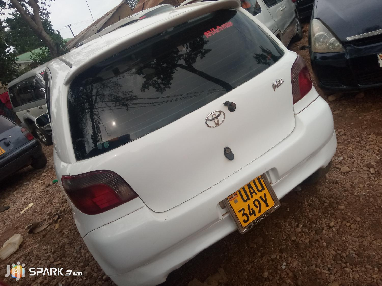 Toyota Vitz 2000 White | Cars for sale in Kampala, Central Region, Uganda