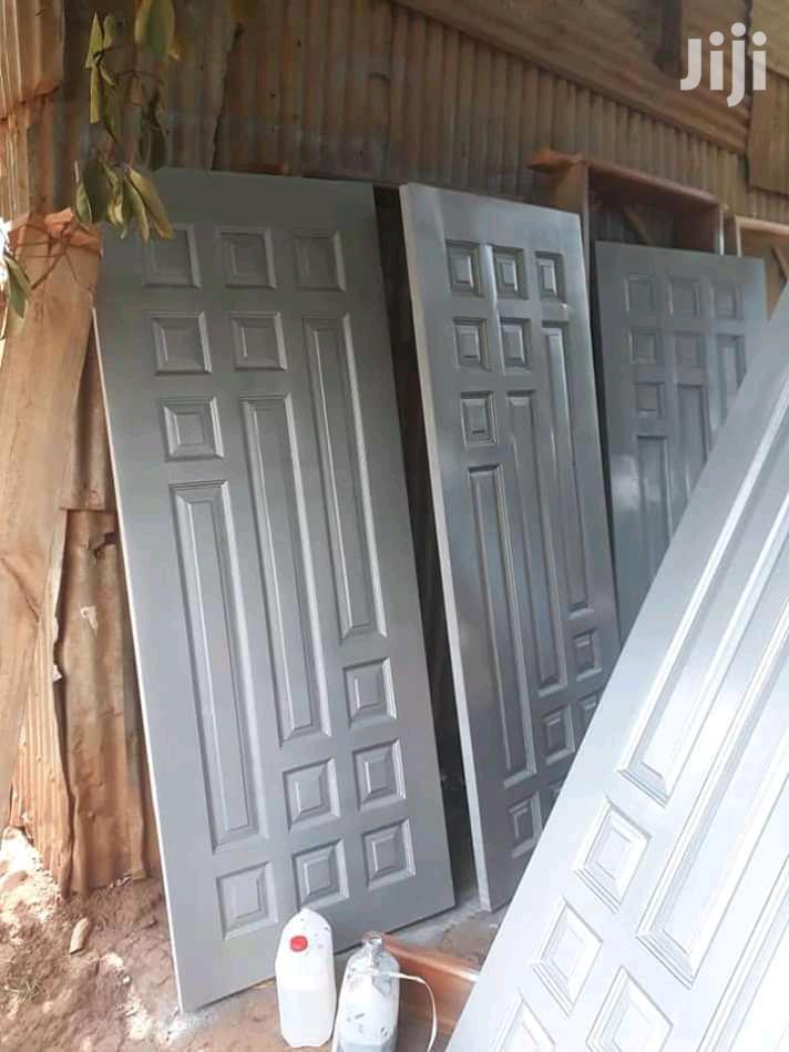 Available Mahogany Grey Doors