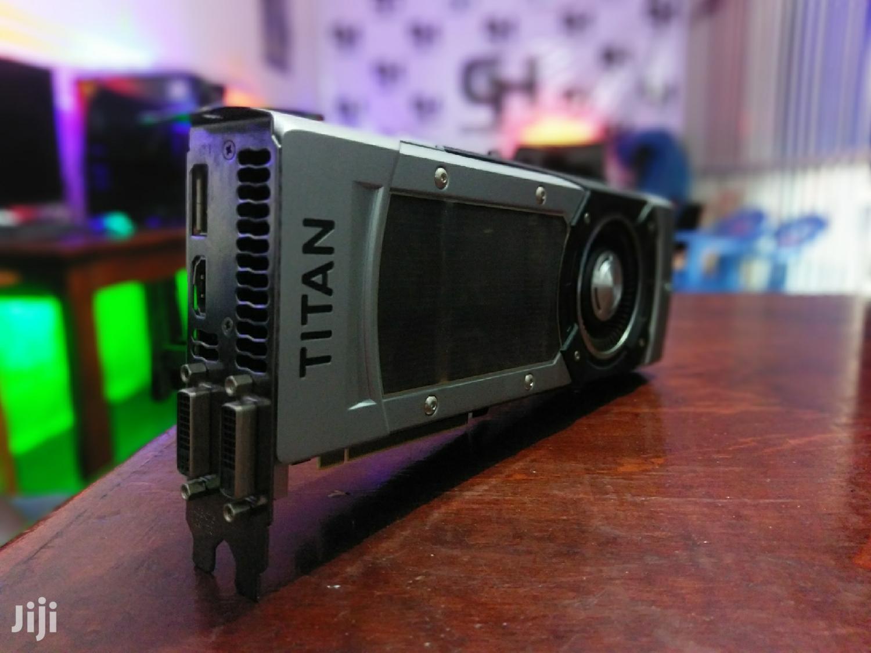 Nvidia Geforce GTX Titan Black 6GB GDDR5 Graphics Card | Computer Hardware for sale in Kampala, Central Region, Uganda
