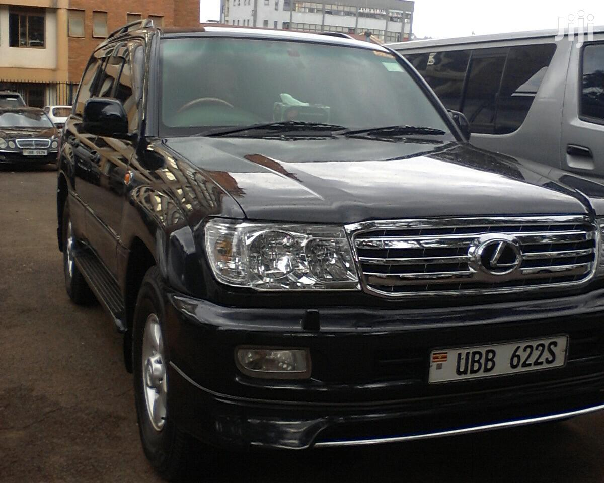 Archive: Toyota Land Cruiser 2003 Black