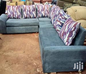 New Blue Comfortable Sofas   Furniture for sale in Central Region, Kampala