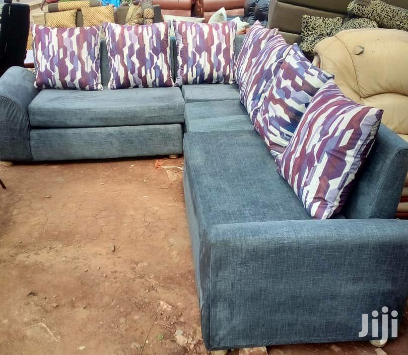 New Blue Comfortable Sofas