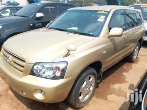 Toyota Kluger 2006 Gold