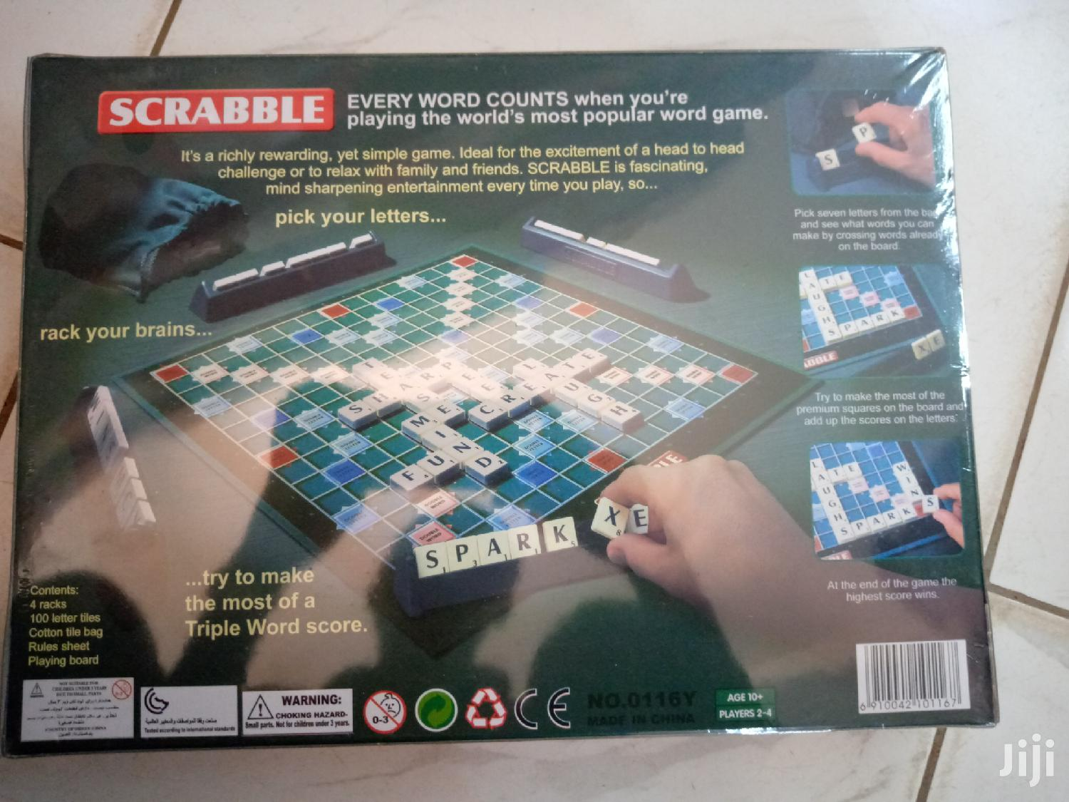 Scrabble(New) Game