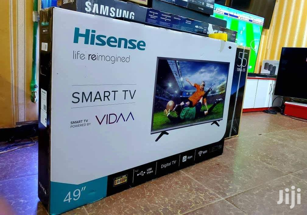 Hisense Tv Flat Screen 49inch Smart