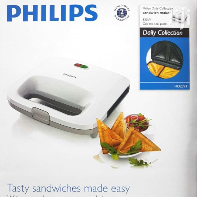 Philips Daily Collection Sandwich Maker 820W