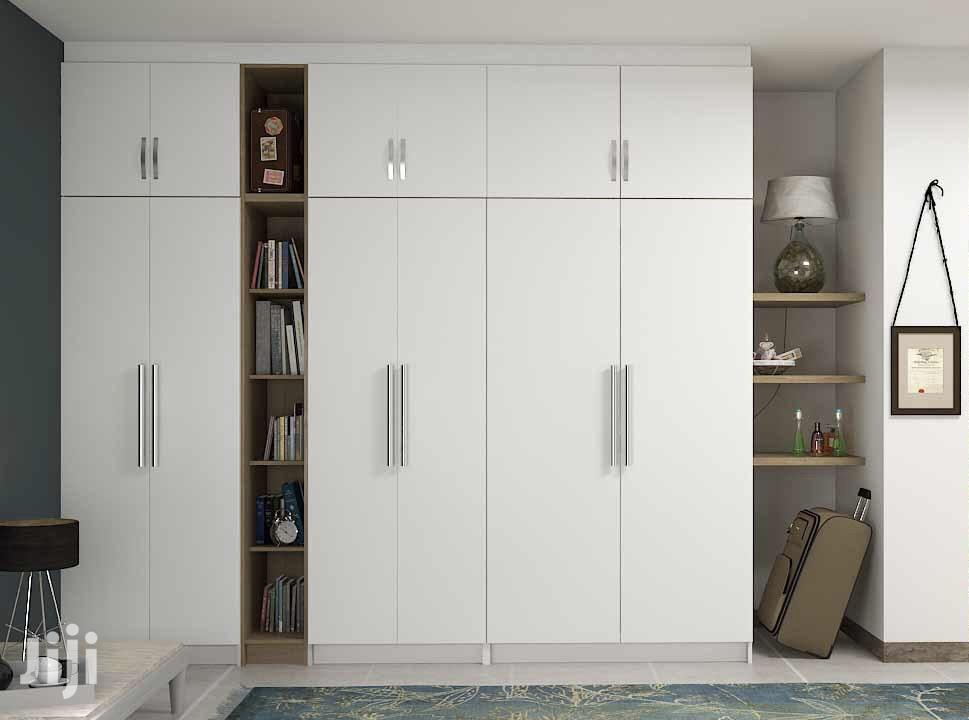 Modern Strong Stylish Wardrobe White