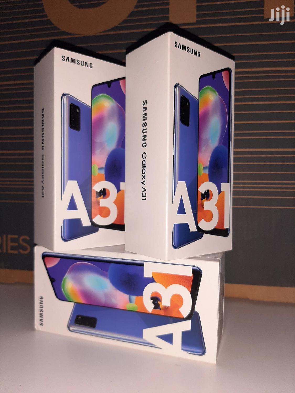 New Samsung Galaxy A31 128 GB Blue | Mobile Phones for sale in Kampala, Central Region, Uganda