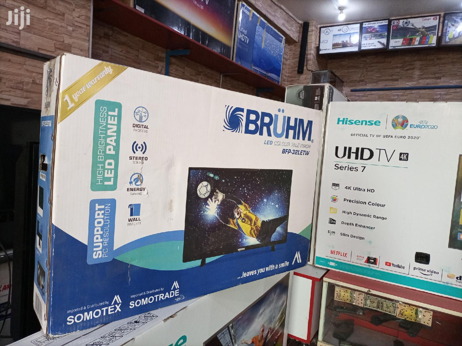 Bruhm 32 Inches LED Digital Flat Screen Tv.