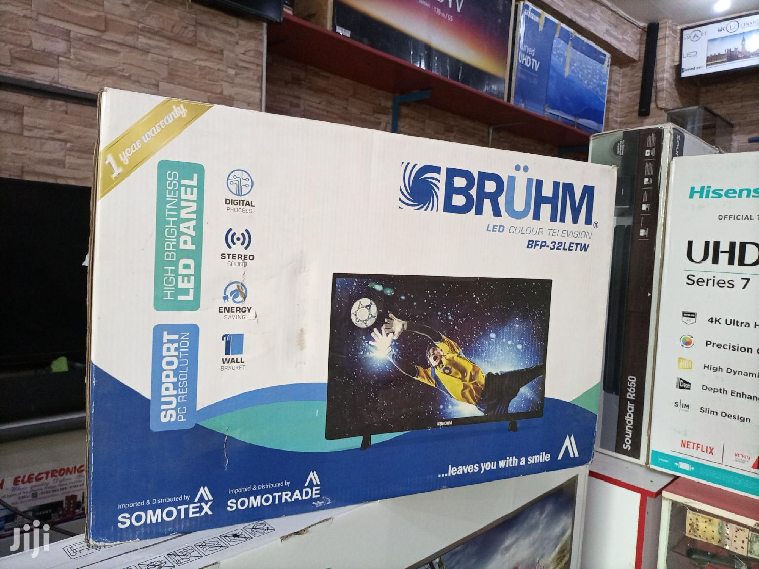 Bruhm 32 Inches LED Digital Flat Screen Tv. | TV & DVD Equipment for sale in Kampala, Central Region, Uganda