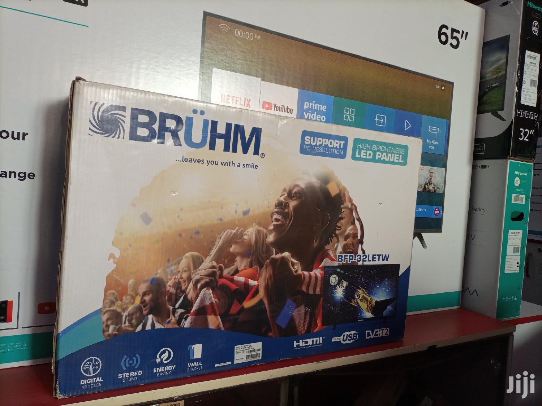 Bruhm 32 Inches LED Digital Flat Screen TV   TV & DVD Equipment for sale in Kampala, Central Region, Uganda