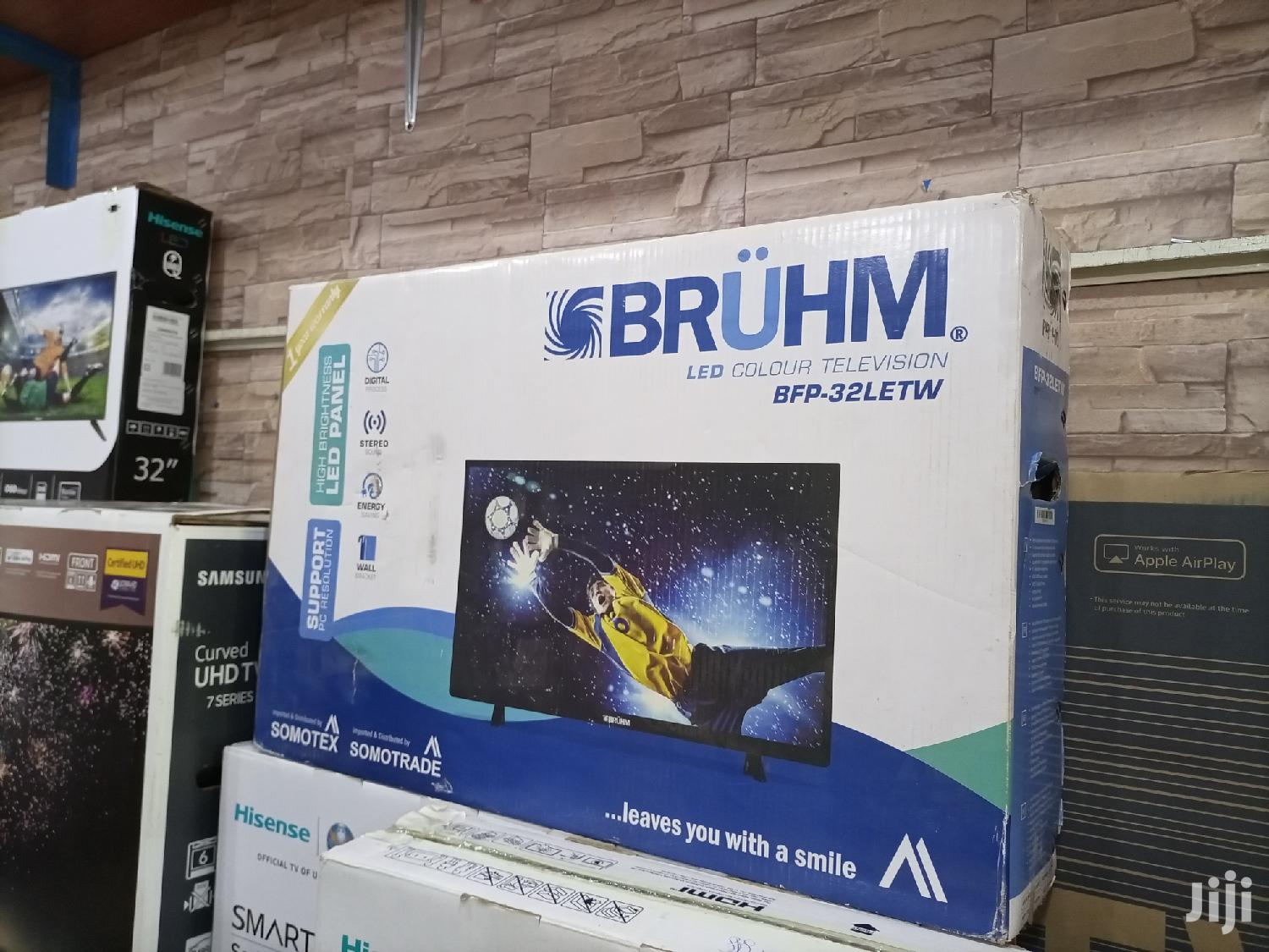 32 Inches Bruhm LED Digital Flat Screen Tv. | TV & DVD Equipment for sale in Kampala, Central Region, Uganda