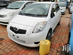 Toyota Vitz 2006 White   Cars for sale in Central Region, Kampala