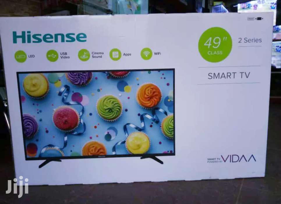 New Hisense 49inches Smart Flat Screen TV