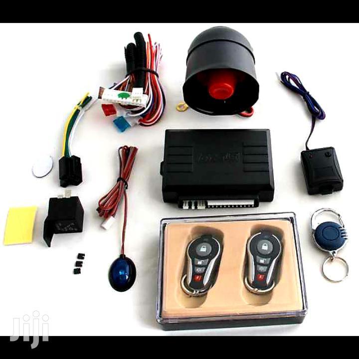 Scorpion Car Alarm With Secrete Button