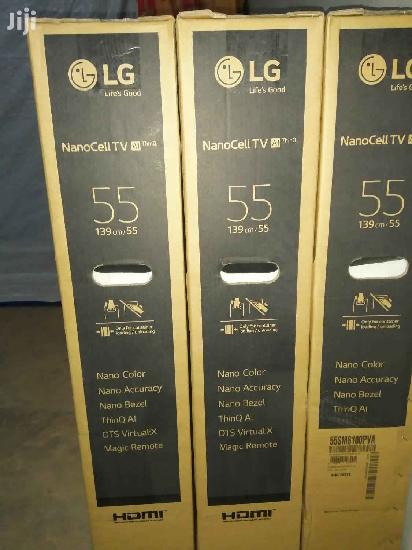 "LG 55"" Nano Cell 4K Uhd TV | TV & DVD Equipment for sale in Kampala, Central Region, Uganda"