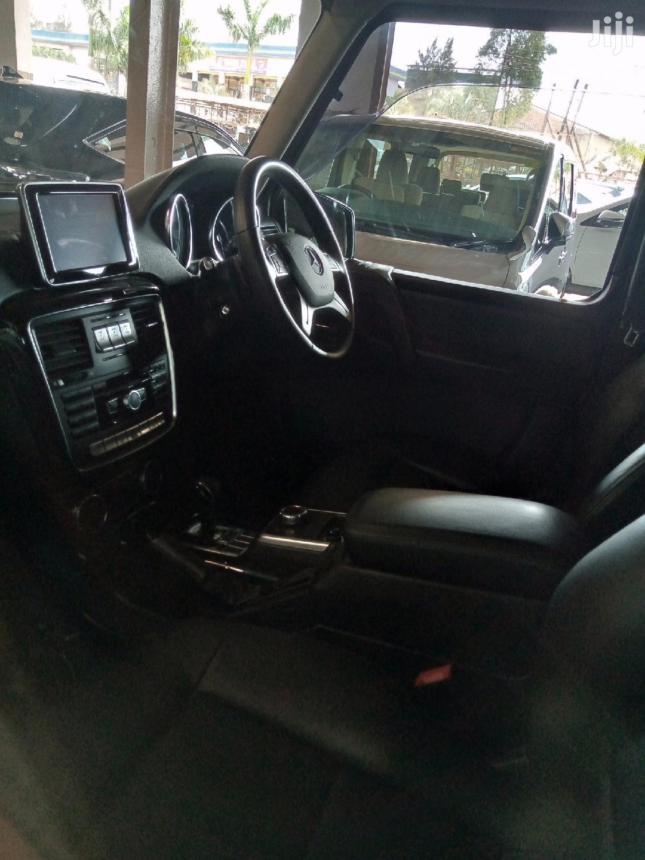 Archive: New Mercedes-Benz G-Class 2015 Black