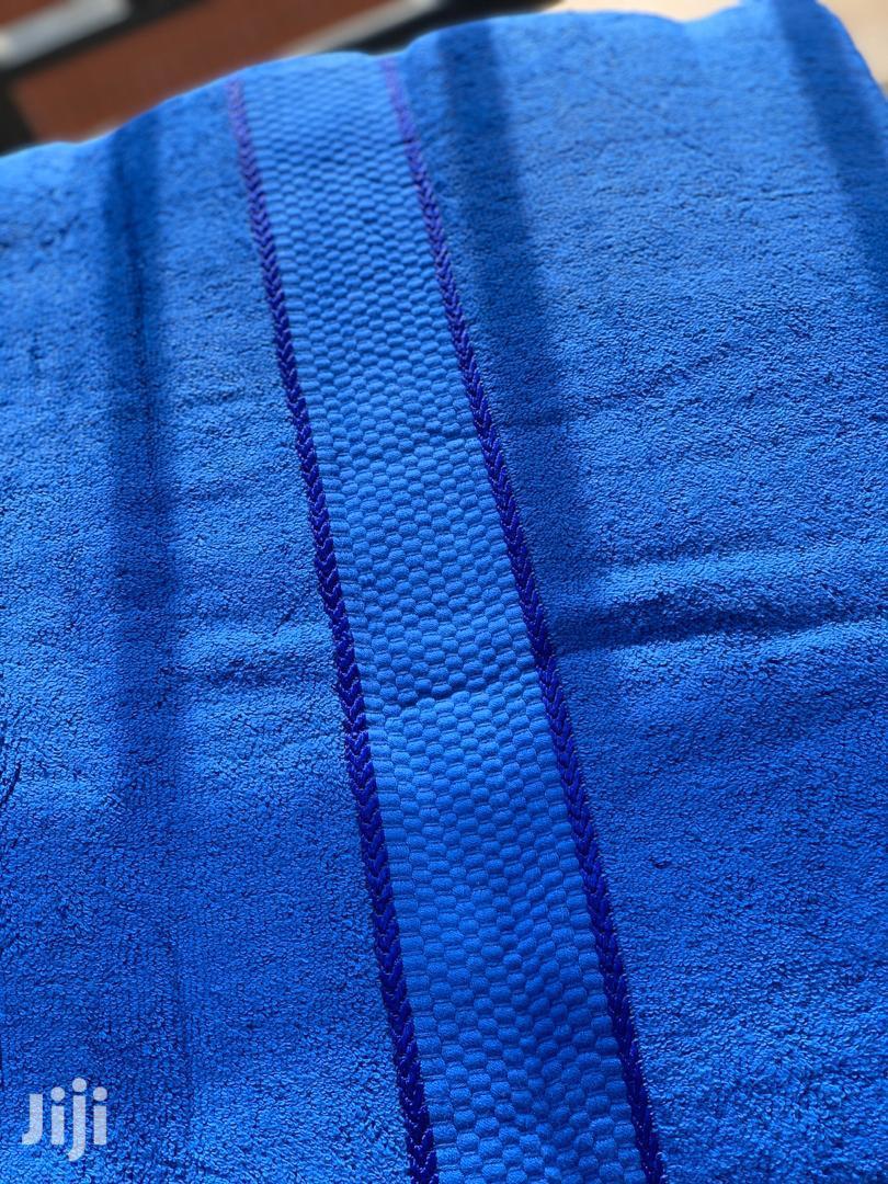 Blue Polo Towel