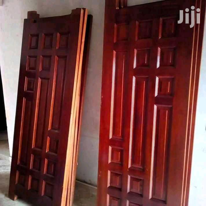 Available Brown Mahogany Doors