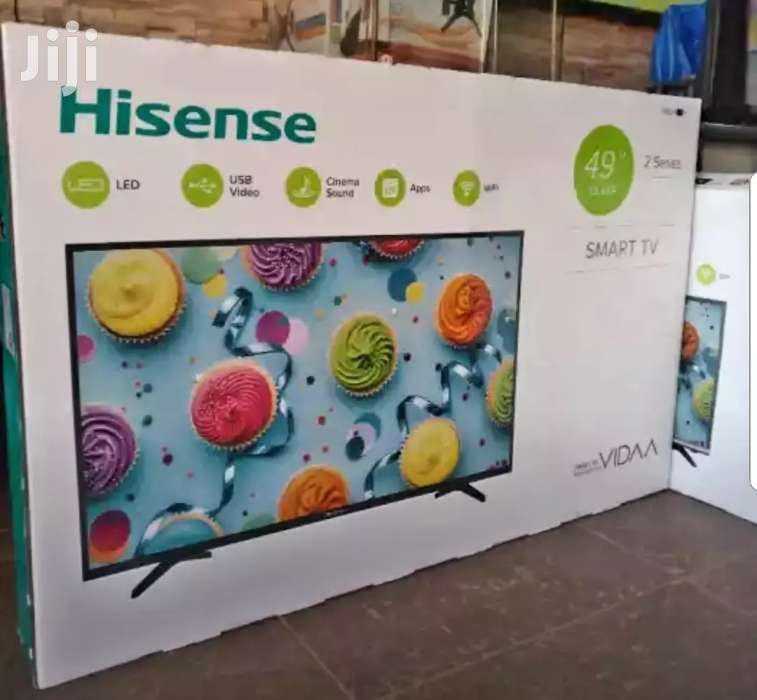 New Hisense Smart 49inches Flat Screen TV