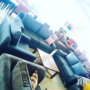 6 Seater Sofas Blue   Furniture for sale in Central Region, Kampala