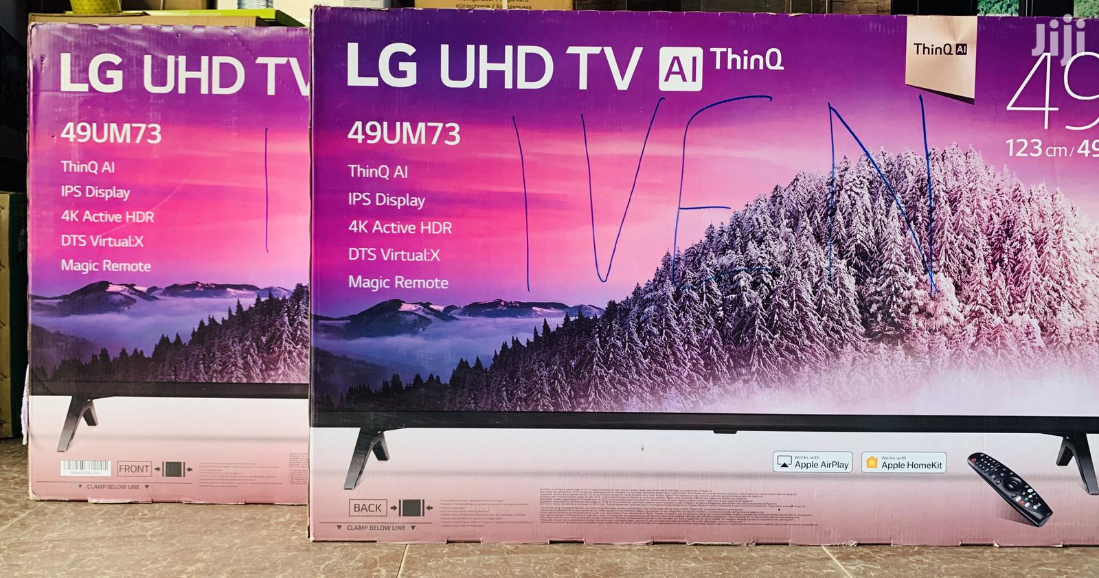 49inches LG Smart Uhd 4K | TV & DVD Equipment for sale in Kampala, Central Region, Uganda