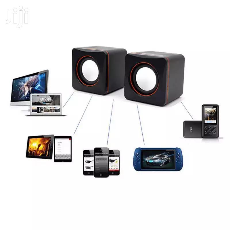 Home Laptop Mini Subwoofer Speaker Portable PC Mobile Phone USB Audio.   Audio & Music Equipment for sale in Kampala, Central Region, Uganda