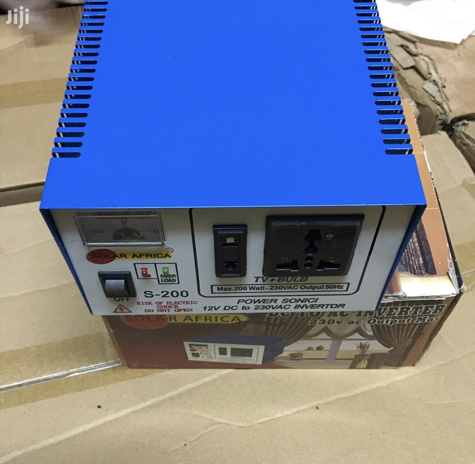 500w Dc to Ac Solar Inverter and Battery Charger | Solar Energy for sale in Kampala, Central Region, Uganda
