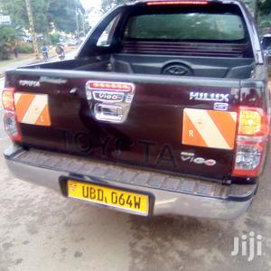 Toyota Hilux 2009 2.5 D-4D 4X4 SRX Red