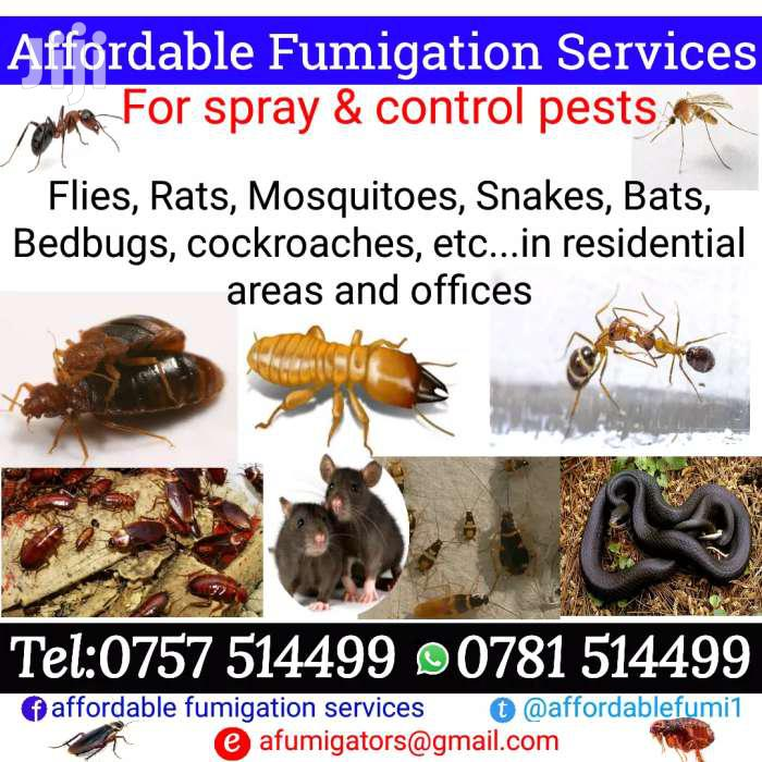 Fumigation Services And Pest Control | Cleaning Services for sale in Kampala, Central Region, Uganda