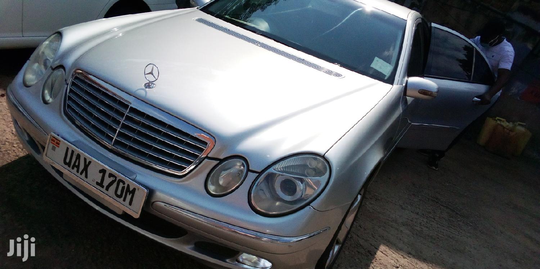 Mercedes-Benz E320 2008 Silver