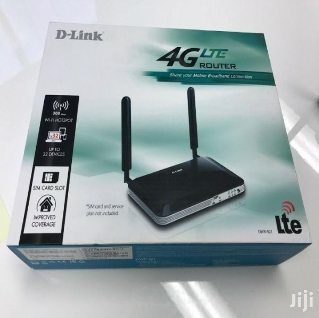 D-link 3G/4G LTE Sim Wireless Router