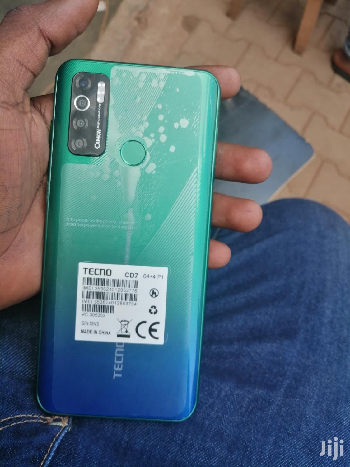 New Tecno Camon 15 64 GB Black | Mobile Phones for sale in Kampala, Central Region, Uganda
