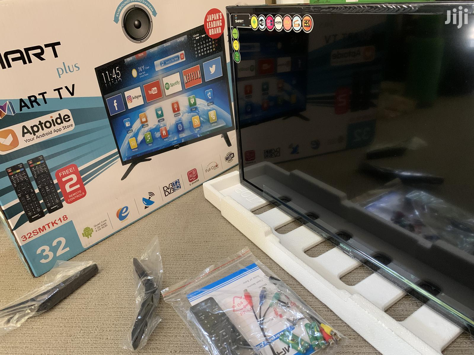 Smart Plus Android TV 32 Inches | TV & DVD Equipment for sale in Kampala, Central Region, Uganda